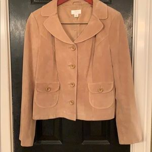 Loft leather suede jacket 10
